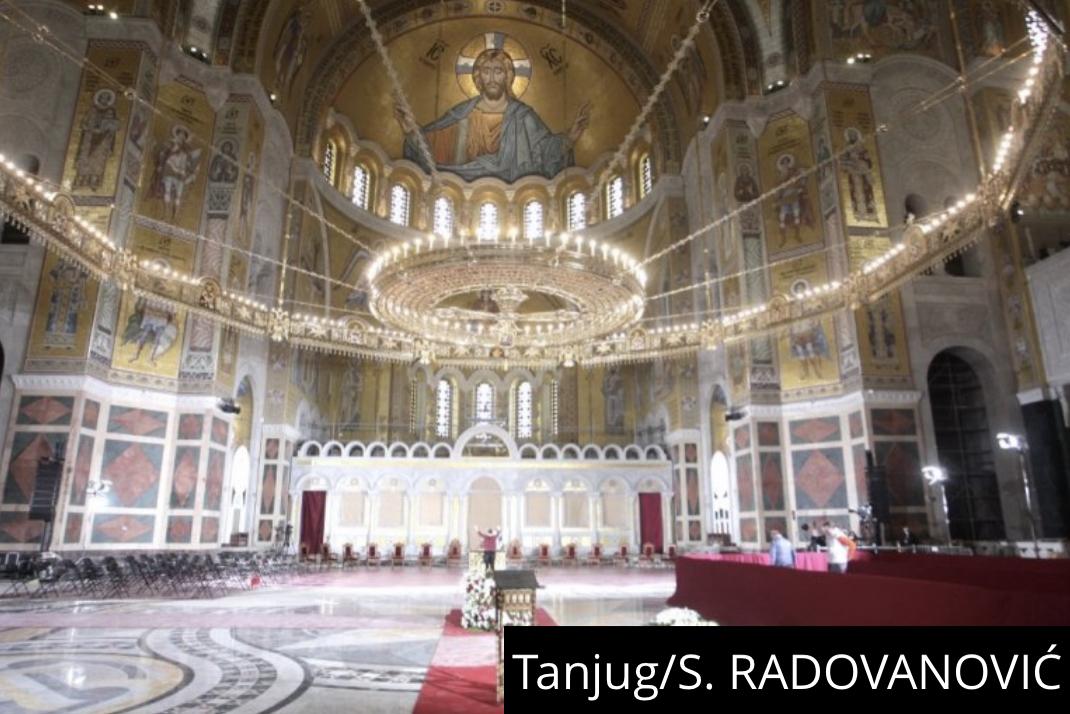 PONOS SRBIJE! Vučić: Hram Svetog Save je najlepši pravoslavni hram! Ko nije bio samo neka ode da vidi kako izgleda (VIDEO)