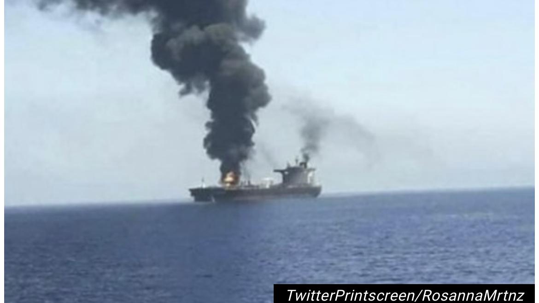 DVOJE MRTVIH Izrael okrivio Iran za smrtonosni napad na tanker kod Omana