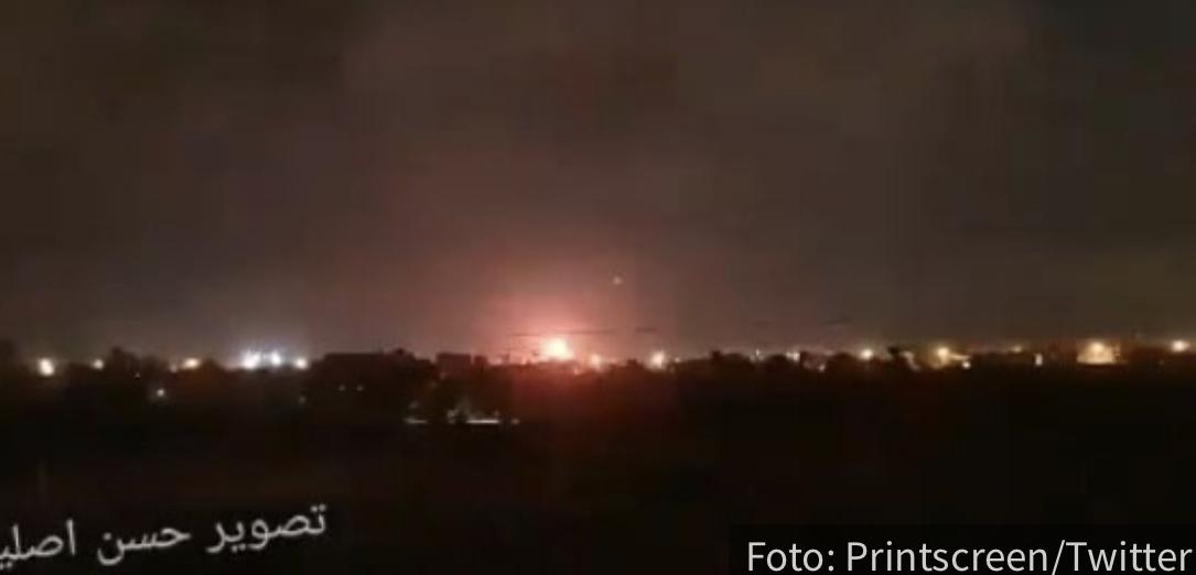 Izrael izvršio nove NAPADE: Rakete ispaljene na palestinske grupe u pojasu Gaze (VIDEO)