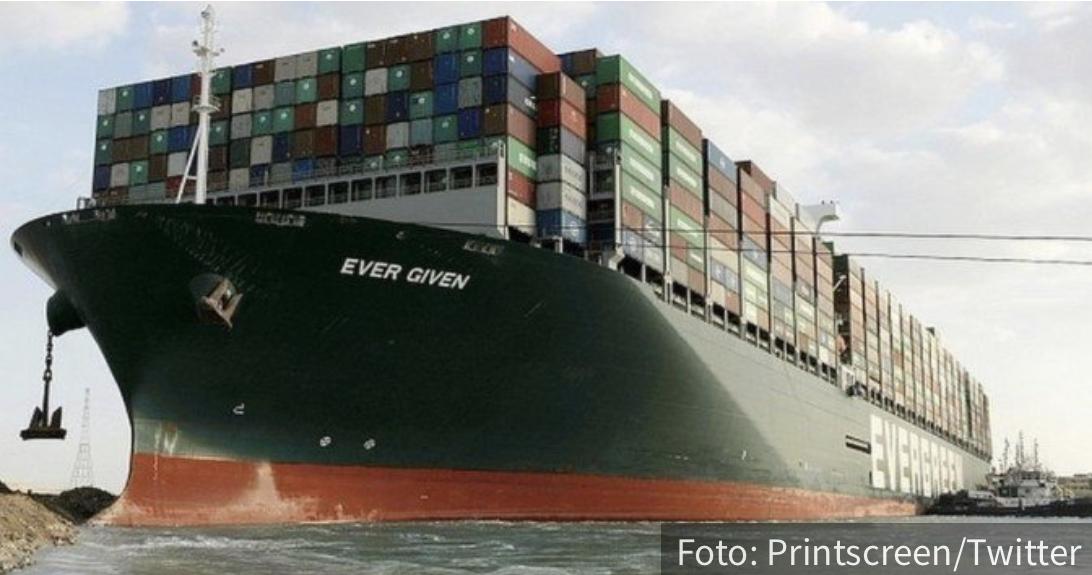 Konačno će otploviti: Ever Given dobio DOZVOLU da napusti Suecki kanal, paprena kazna plaćena