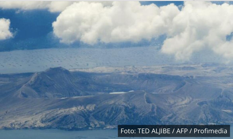 UZBUNA NA FILIPINIMA Iz vulkana Tal izletela para, strahuje se da će da eruptira VIDEO