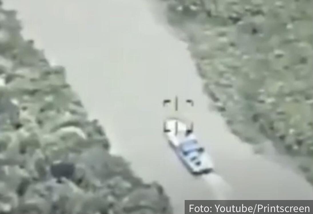 Filmska POTERA za pet TONA kokaina: Kolumbijski mafijaši počeli da beže gliserom (VIDEO)