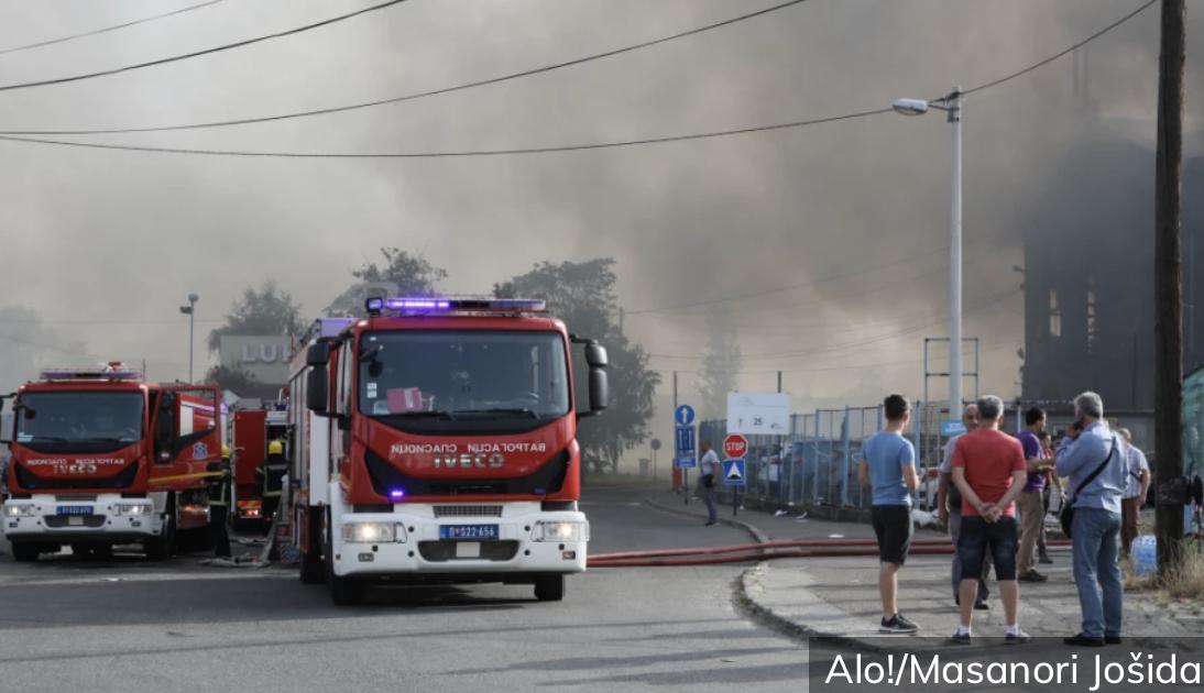 Lokalizovan požar u Luci Beograd!