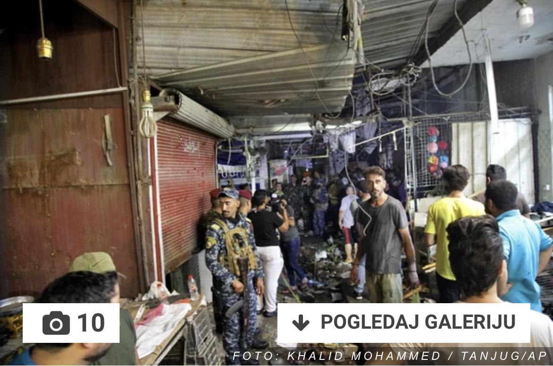 BOMBAŠKI NAPAD U IRAKU Na pijaci eksplodirala bomba, najmanje 28 LJUDI POGINULO (VIDEO)