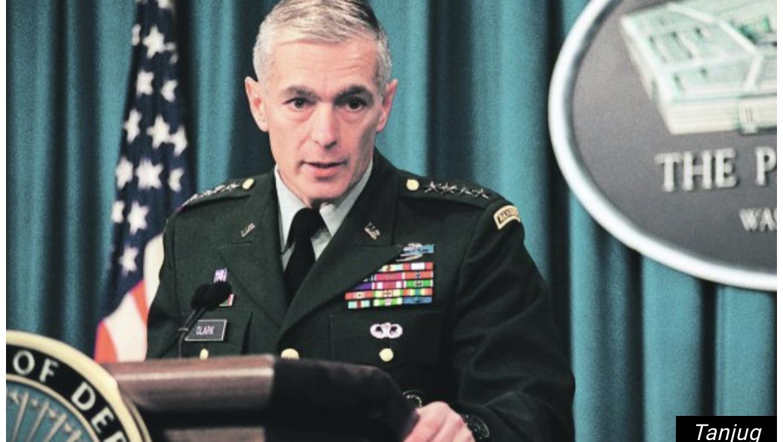 AMERIČKI GENERAL VESLI KLARK HVALI SE ZLOČINOM! Kosovo je najbolja stvar koju sam radio sa Bilom Klintonom!
