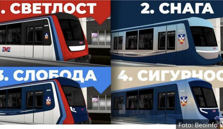 GRAĐANI BIRAJU I GLASAJU: Ovo su četiri predloga kako će izgledati metro u Beogradu