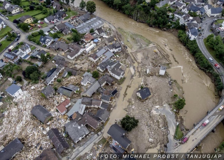 Snimci iz vazduha najbolje prikazuju koliko su POPLAVE RAZORILE Evropu: Vodena stihija za sobom ostavila stravične prizore (FOTO, VIDEO)