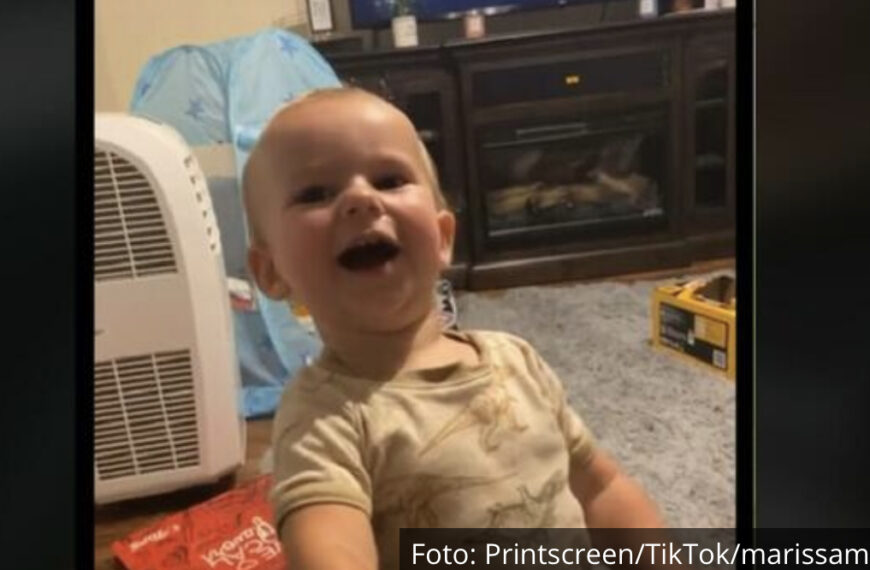 BEBA KOJA JE NASMEJALA ČITAV INTERNET: Smeh ovog dečaka popravće vam dan, zvuči kao iz crtanog filma! (VIDEO)
