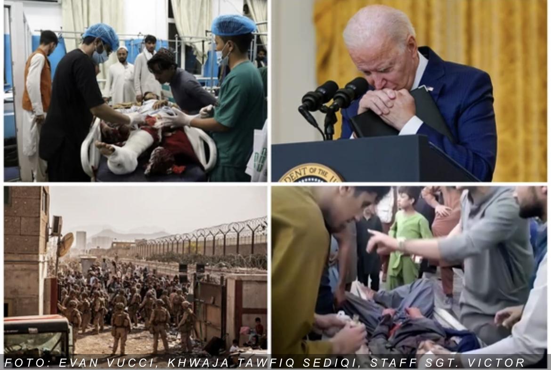 KABULSKI PAKAO Najsmrtonosniji dan za američku vojsku: 95 mrtvih i 150 ranjenih na aerodromu, Bajden obećao da će LOVITI TERORISTE
