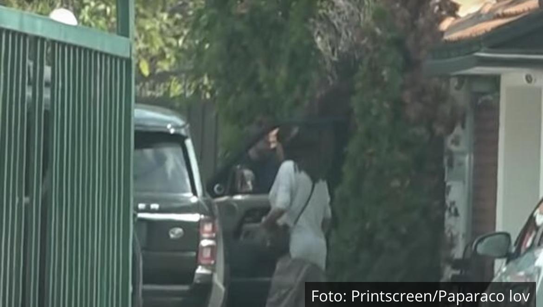 CECA SNIMLJENA KOD SAŠE NA TAJNOM SASTANKU: Pre nego što je stigla u vilu na Bežanijskoj kosi svratila na JEDNO MESTO (VIDEO)