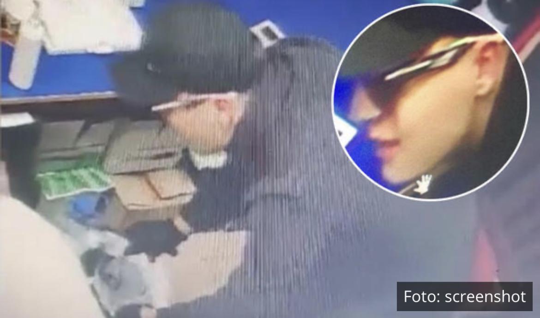 PLJAČKA MENJAČNICE UŽIVO! Maskirani razbojnik nožem pretio radnici, pa OTEO 3 MILIONA DINARA i dalje u bekstvu (VIDEO)