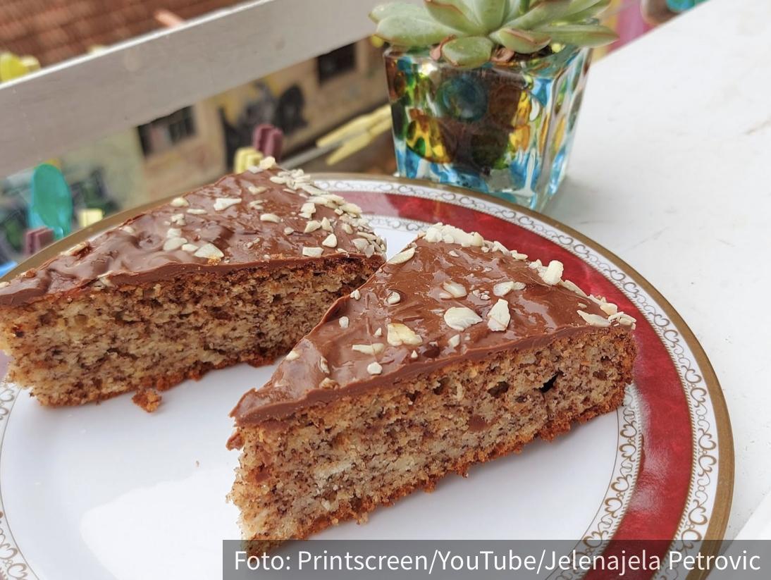 Jednostavan, čak i za početnike: Fantastičan kolač sa čokoladom i orasima (RECEPT+VIDEO)