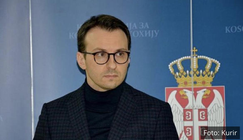 PRIŠTINA ĆE SKIDATI SPRSKE TABLICE Kurti je čovek koji želi incidente po svaku cenu PETAR PETKOVIĆ: Srbija će umeti da odgovori