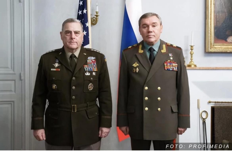 SASTANAK NA NAJVIŠEM NIVOU Najviši generali SAD i Rusije razgovarali u Helsinkiju