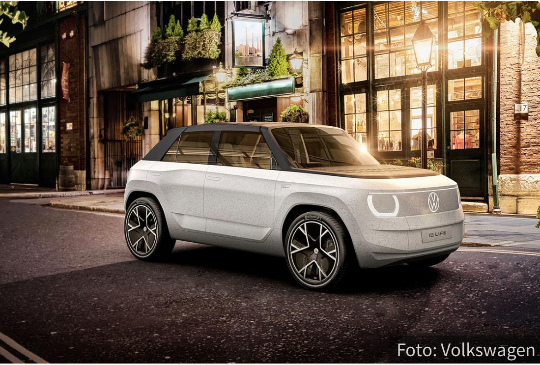 Volkswagen ID.Life: Gradski crossover kojim UPRAVLJATE pomoću telefona (VIDEO)