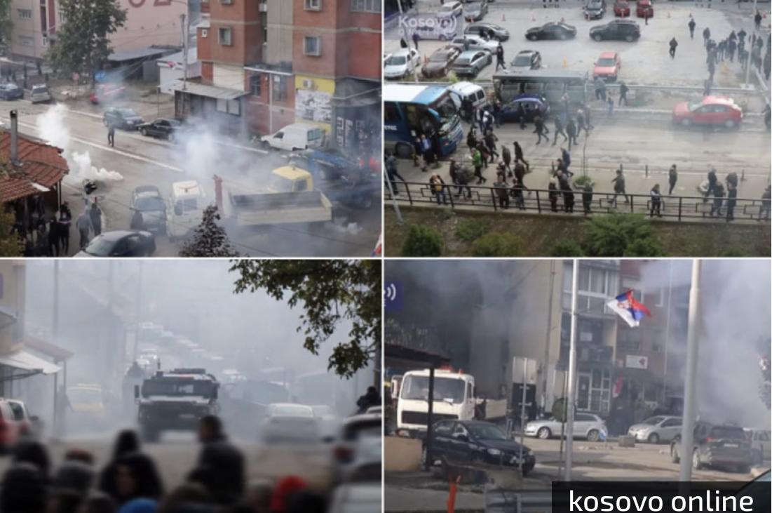 MIRNA NOĆ NA KOSOVU POSLE JUČERAŠNJEG HAOSA! Sklonjene barikade, protest podrške i danas!