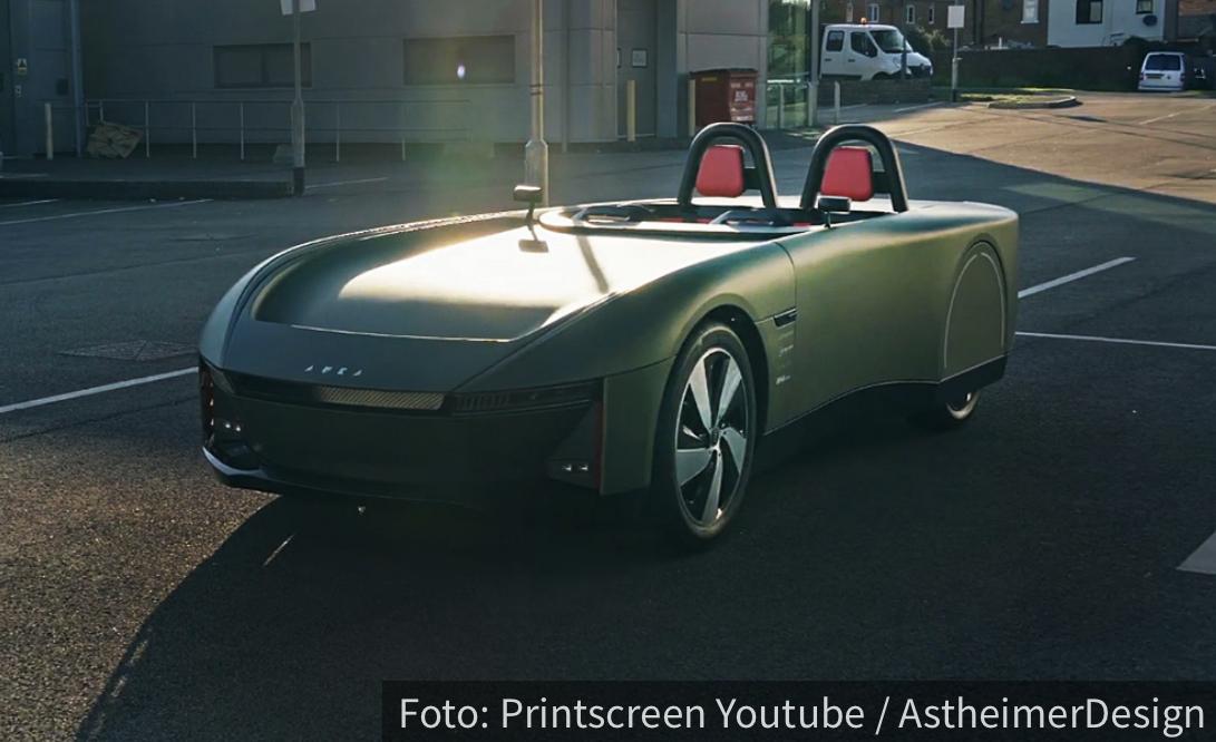 Aura je britanski roadster budućnosti: Nema krov, a prelazi 640 kilometara s punim baterijama (VIDEO)