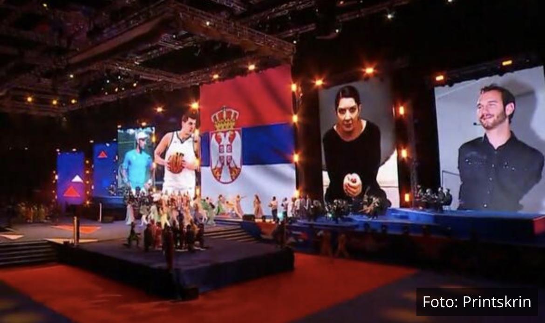 BEOGRAD JE CENTAR PLANETE! Spektakularna ceremonija Svetskog prvenstva otvaranja u Areni! VIDEO