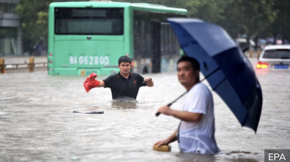 NEVIĐENE POPLAVE U KINI Više od 120 hiljada ljudi evakuisano