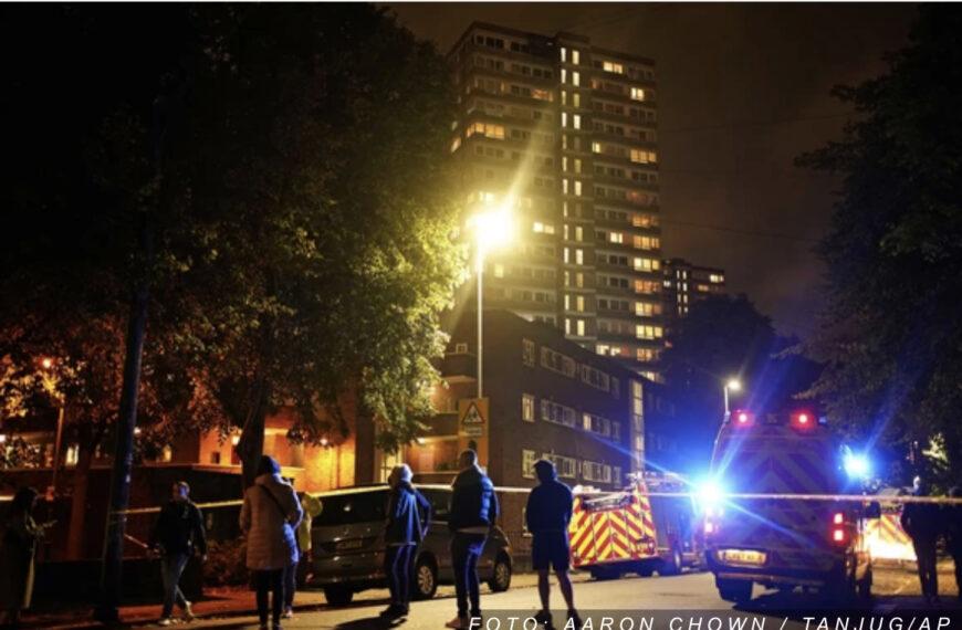 VELIKI POŽAR U LONDONU Zapalila se zgrada, povređeni žena i dete (VIDEO)
