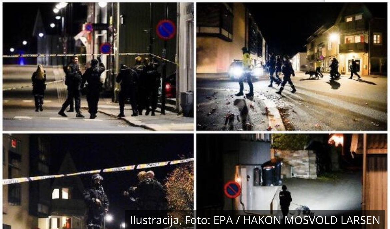 PRVI SNIMCI STRELA SMRTI: Ovim je pomahnitali Norvežanin napadao ljude! Ima mrtvih i ranjenih! FOTO, VIDEO