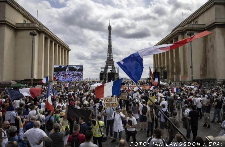 PROTESTI ŠIROM FRANCUSKE Francuzi na ulicamo zbog niskih plata i porasta cena