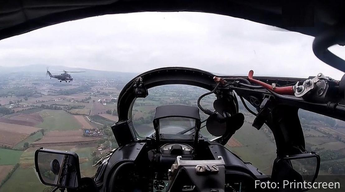 """Rusi i Srbi ZAJEDNO u vazduhu: Vežba """"letećih tenkova"""" na aerodromu Lađevci (VIDEO)"""