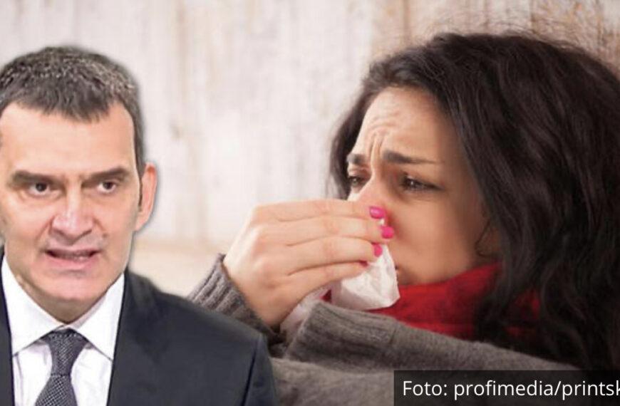ČAK DVE TREĆINE KOVID PACIJENATA TO IMA! DR MILOVANOVIĆ ZA KURIR: Zapušen nos nije obična prehlada, već PRVI SIMPTOM KORONE!